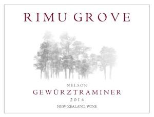 RimuGroveGewurztraminer2014